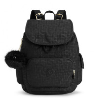 Kipling City Pack S Backpack Black Pylon Emb