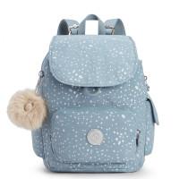 Kipling City Pack S Backpack Silver Sky