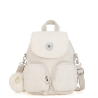 Kipling Firefly Up Backpack Dazz White