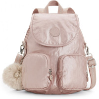 Kipling Firefly Up Backpack Metallic Blush