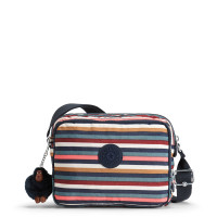Kipling Silen Schoudertas Multi Stripes