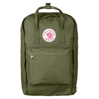 "FjallRaven Kanken Laptop 17"" Rugzak Green"