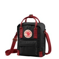 FjallRaven Kanken Sling Shoulderbag Black-Ox Red