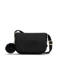 Kipling Earthbeat S Schoudertas Black Pylon Emb