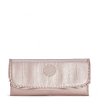 Kipling Supermoney Portemonnee Metallic Blush