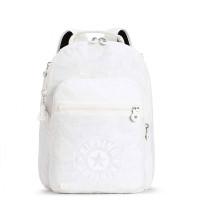 Kipling Clas Seoul New Classics Rugzak Lively White