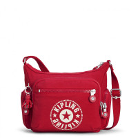 Kipling Gabbie S New Classics Schoudertas Lively Red