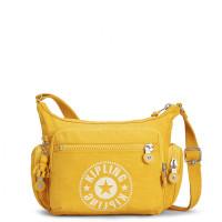 Kipling Gabbie S New Classics Schoudertas Lively Yellow