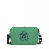 Kipling Basic Schoudertas Classic Niman Foldable Lively Green