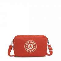 Kipling Basic Schoudertas Classic Niman Foldable Funky Orange