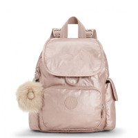 Kipling City Pack Mini Backpack Metallic Blush
