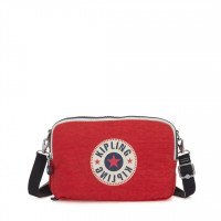 Kipling Basic Schoudertas Classic Niman Foldable Active Red Block