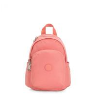 Kipling Delia Mini Backpack Coral Pink