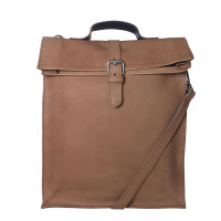Laauw AMS The Nine Streets Laptop Bag Cognac