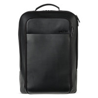 Salzen Originator Leather Business Backpack Total Black