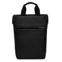 Salzen Freelict Leather Backpack Total Black