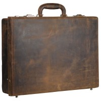 Leonhard Heyden Salisbury Attaché Case Brown 7613