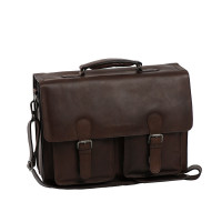 Chesterfield Lisbon Business Laptopbag Brown