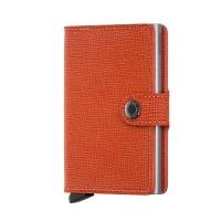 Secrid Mini Wallet Portemonnee Crisple Orange