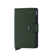 Secrid Mini Wallet Portemonnee Matte Green Black