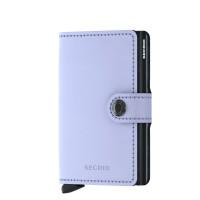 Secrid Mini Wallet Portemonnee Matte Lilac Black