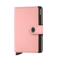 Secrid Mini Wallet Portemonnee Matte Pink/Black
