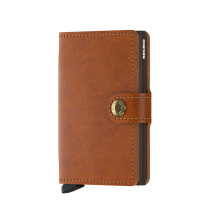 Secrid Mini Wallet Portemonnee Original Cognac Brown
