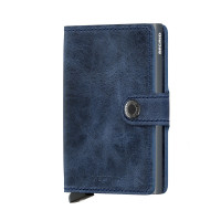 Secrid Mini Wallet Portemonnee Vintage Blue/Grey
