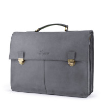 Laauw Madrid Cuzco Laptoptas Off Black