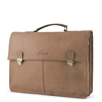 Laauw Madrid Cuzco Laptoptas Cognac