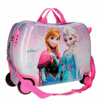 88160a5534e Disney Rolling Suitcase 4 Wheels Frozen Fantasy