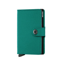 Secrid Mini Wallet Portemonnee Crisple Emerald Black