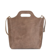 Myomy My Carry Bag Shopper Medium Hunter Waxy Taupe