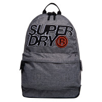 Superdry Montana Mesh Lineman Backpack Light Grey