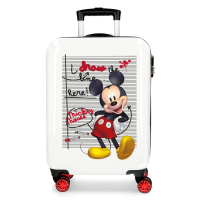 Disney Trolley 55 Cm 4 Wheels Mickey Mouse Draw A Line Twister White