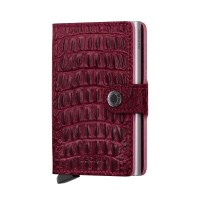 Secrid Mini Wallet Portemonnee Nile Red