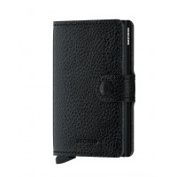 Secrid Mini Wallet Portemonnee Veg Black / Black