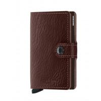 Secrid Mini Wallet Portemonnee Veg Espresso / Brown