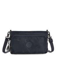 Kipling Myrte Crossbody Schoudertas Satin Camo Blue