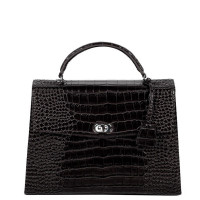 "Socha Audrey Businessbag 13.3"" Croco Black"