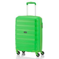Travelite Nova 4 Wheel Trolley S Light Green
