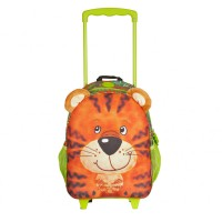 Okiedog Wildpack Junior Trolley Medium Tiger