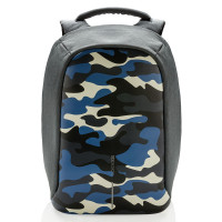 XD Design Bobby Compact Anti-Diefstal Rugtas Camouflage Blauw