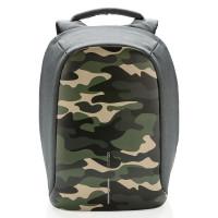 XD Design Bobby Compact Anti-Diefstal Rugtas Camouflage Groen
