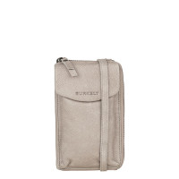 Burkely Just Jackie Phone Wallet Crossbody Bag Light Grey