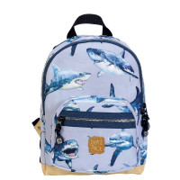 Pick & Pack Cute Rugzak S Shark Light Blue
