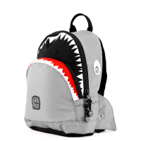 Pick & Pack Fun Rugzak S Shark Shape Grey