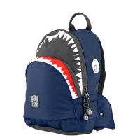 Pick & Pack Fun Rugzak S Shark Shape Navy