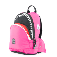 Pick & Pack Fun Rugzak S Shark Shape Fuchsia