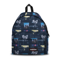 Eastpak Padded Pak'r Rugzak Shapes Blue